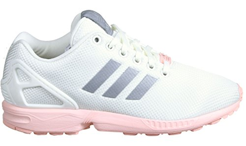 adidas ZX Flux W Schuhe 8,0 white/silver/coral