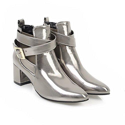 Balamasa Balamasaabl10473 - Sandales Compensées En Argent Pour Femme