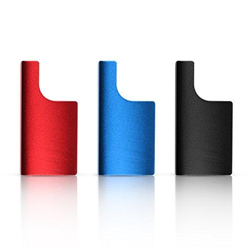 SHOOT 3 in 1 Aluminium Crochet Loquet de Housse étanche étuis Protection pour GoPro Hero 3+ 4 Camera Accessories(Noir,Rouge,Bleu)