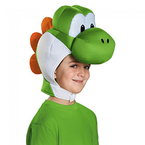 Yoshi KinderkopfstückSuper Mario Bros. Kostüm Kopfbedeckung Zubehör Hut (Super Mario Dress Up)