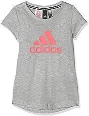 adidas Yg Mh Bos tee Camiseta Niñas