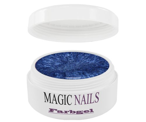 Magic Items UV gels – – QUALITÉ Studio Bleu métallisé 5 ml