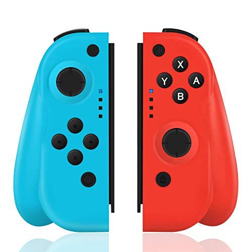 TUTUO Manette Switch Pro sans Fil Compatible avec Nintendo Switch, Remplacement JOYCON Contrôleur...