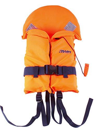 AWN Rettungsweste BRAVISSIMO Schwimmweste Feststoffweste für Kinder und Erwachsene 15-20 kg