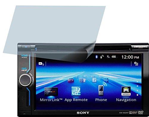 Sony XAV-602BT (4 Stück) PREMIUM Displayschutzfolie Bildschirmschutzfolie ANTIREFLEX - KRATZFEST UND PASSGENAU