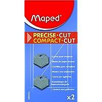 Maped 089093 Set de 2 Lames droites pour Massicot