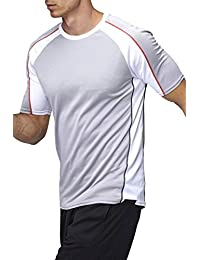 Sundried Men's Athletic Sports Top Gym T-Shirt Fitness Clothing