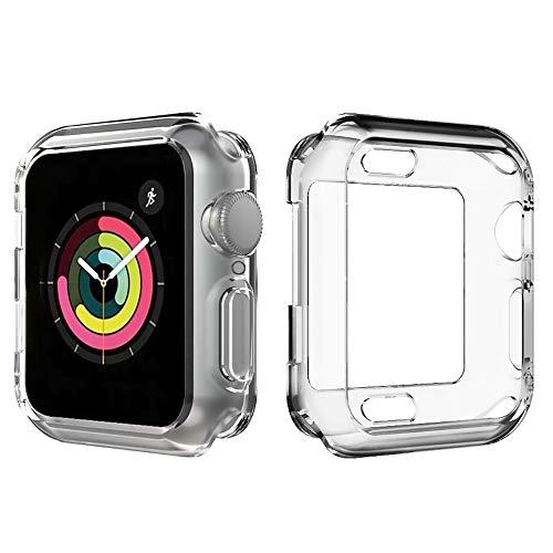 86ee8240eee77 steanum Compatible pour Coque Apple Watch Series 4