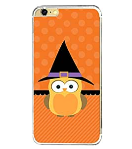 Cute Owl 2D Hard Polycarbonate Designer Back Case Cover for Apple iPhone 6S