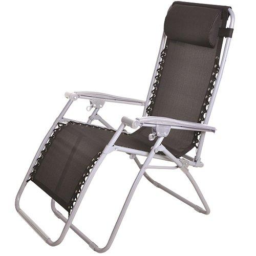 41ybqadzhnL. SS500  - Textoline Reclining Garden Chair