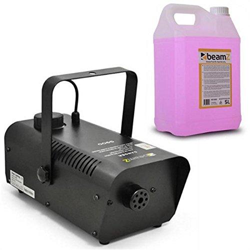 Beamz S9000 Máquina niebla + 5 litros líquido niebla