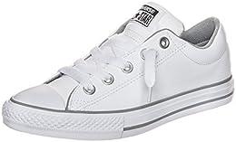 zapatillas converse niño piel blancas