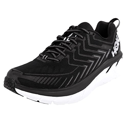 Hoka One One Clifton 4 Black White