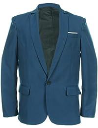 Y-BOA Veston Blazer Tailleur Homme Slim Business/Casuel Smoking Vintage