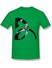 Kumiu SHJQ Men s T Shirt Unique Tennis Player Novak Djokovic Logo White 8035e448f5
