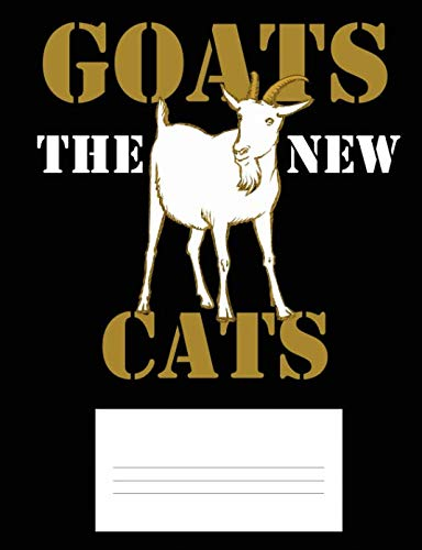 79db8d08 Goats the New Cats: Composition Notebook for Goat Lovers - Dot Grid