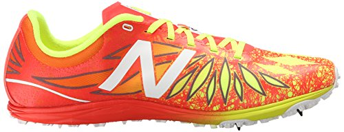 New Balance Men's UX5000 XC Spikes Cross-Country Shoe, Orange/Yellow, 10 D US orange / yellow