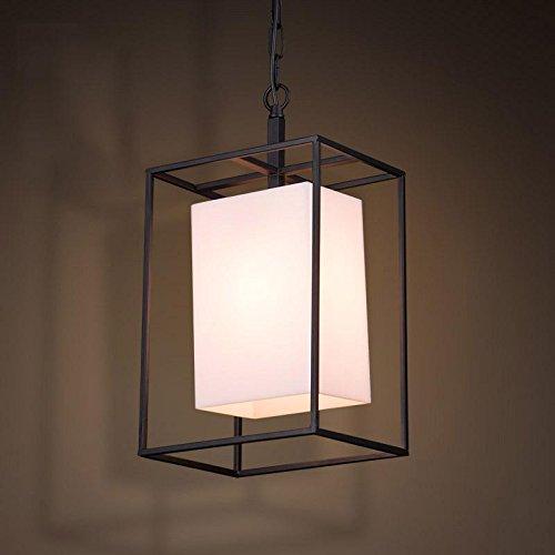 SSBY Nord ouyakeli Hood's loft creativo vintage lampadario industriale lampada da tavolo rettangolo d'arte del ferro battuto lampadario 250*420mm
