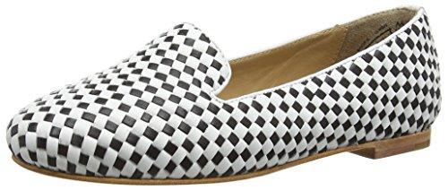 Marc Shoes Bea, Mocassins femme Multicolore - Mehrfarbig (black-white 109)