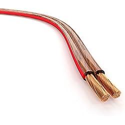 KabelDirekt 15m Câble d'enceinte (2x1,5mm² câble haut-parleur HiFi Made in Germany, en cuivre OFC, avec marquage de polarité) PRO Series
