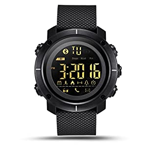 Men's Fitness Tracker Smart Watch for Android IOS Vneirw Generic LF19 Digital Sports Watch Waterproof Smart Watch Bluetooth/LED Backlight