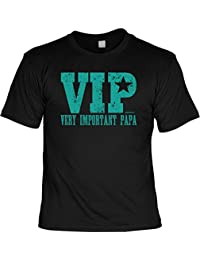 Vatertag T-Shirt ::: VIP Very Important Papa ::: mit Fun-Motiv