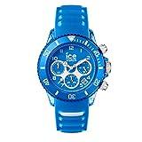 Ice-Watch - Ice Aqua Skydiver - Montre Bleue pour Homme avec Bracelet en Silicone -...