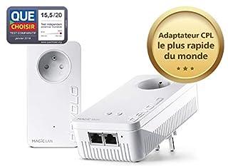 devolo Magic 2 WiFi: Starter Kit CPL le plus rapide au monde pour un WiFi ac dans toute la maison via la ligne électrique, WiFi Mesh, technologie G.hn (B07H7XX3HN)   Amazon price tracker / tracking, Amazon price history charts, Amazon price watches, Amazon price drop alerts