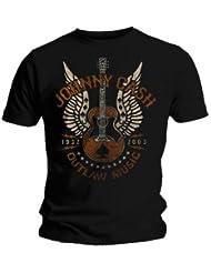 Johnny Cash T-Shirt Music Outlaw Größe M (medium)