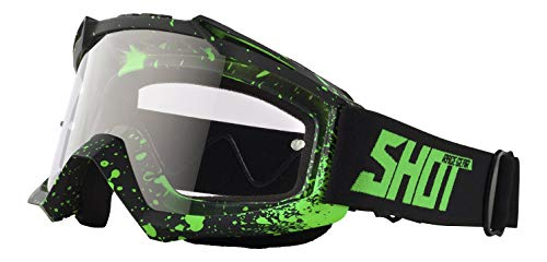 Shot Brille Assault Drop, Neon Grün Matt