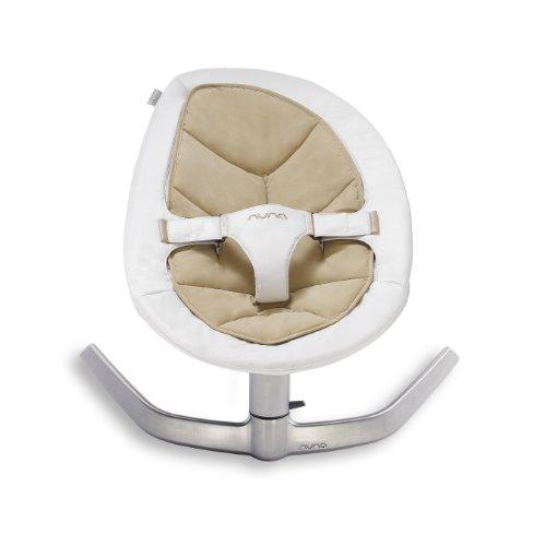 Nuna Leaf hamaca bebe blanco marron