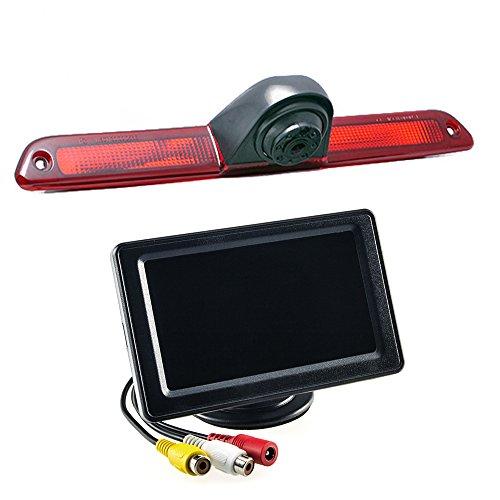 maxxcount Set: Rückfahrkamera 3. Bremsleuchte + Stand-Alone Monitor 10,9cm (4,3 Zoll) für VW Crafter & Mercedes Sprinter Lcd Stand Alone Monitor