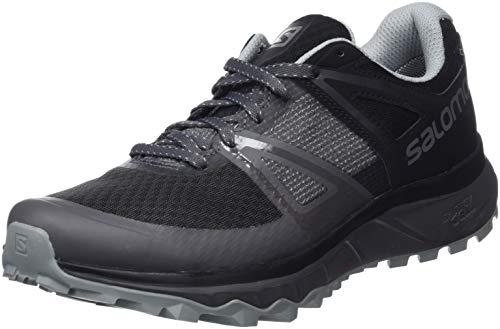 Salomon Trailster GTX, Calzado de Trail Running, Impermeable para Hombre, Gris (Magnet/Black/Quarry),...