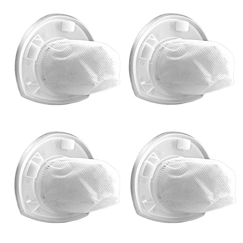 OxoxO VF110 Dustbuster Replacement Filters for Black & Decker Hand Vacuum Filter (Pack of 4)
