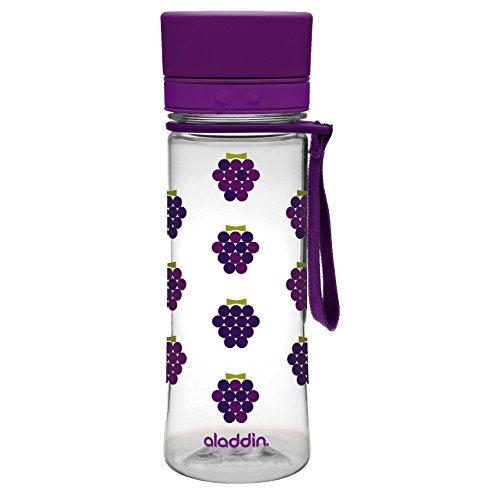 Preisvergleich Produktbild Aladdin 32432 Aveo Trinkflasche Kids 0, 35 L,  lila mit Aufdruck