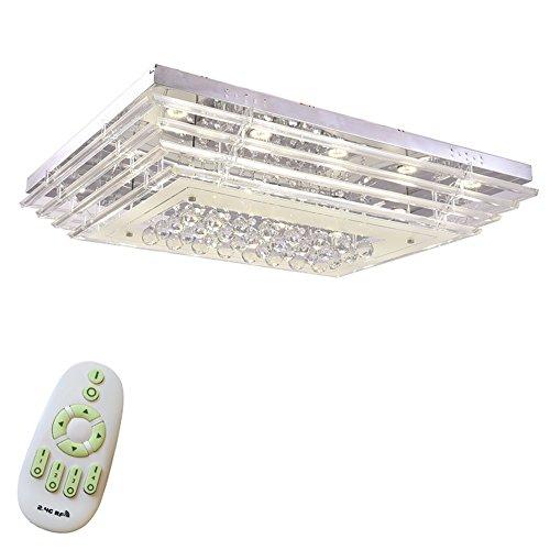 Dioden-strahlung (SAILUN® 108W LED Kristall Deckenleuchte Deckenlampe Wohnzimmer Design Licht für Wohnzimmer Schlafzimmer (108W Dimmbar))