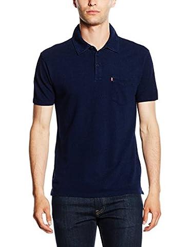 Levi's Men's SS SUNSET POLO Polo Shirt - Blue (193215