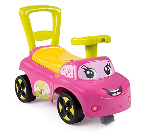 Smoby Toys, 443016, Porteur Auto, Jouet de Premier Age, Rose 3032164430161