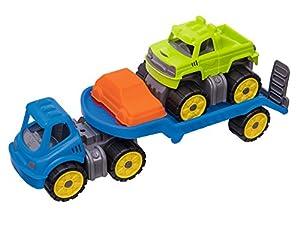 Big 800055809-Power-Worker Mini Monster Truck de Juego, Infantil