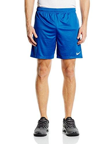 NIKE, Pantaloni corti Uomo Park Knit, coon mutanda interna, Blu (Royal Blue/White), L