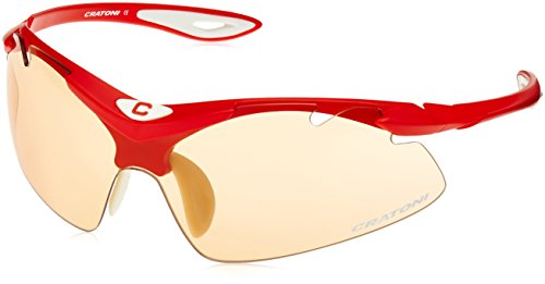 Cratoni Fahrradbrille High Fly Red Matt, One size