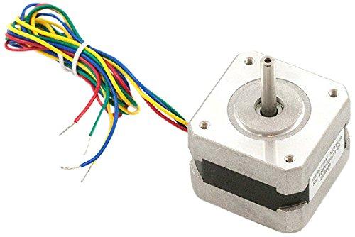 Cool Komponenten sm-42byg011-25Quecksilber NEMA 17bipolaren Schrittmotor mit 4-Kabel,-angeschlossen Silber