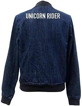 Unicorn Rider Bomber Chaqueta Girls Jeans Certified Freak