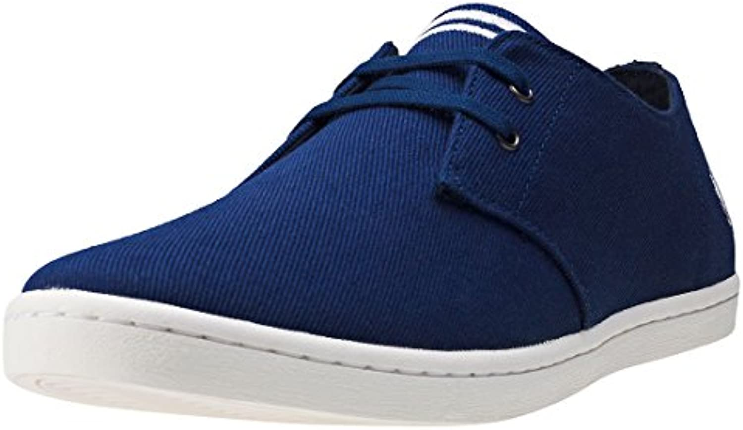 Fred Perry Byron Low Twill French Navy Silver B8233143, Deportivas