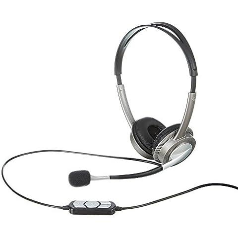 Telefonare Headset USB connettore per PC Computer Laptop cuffia microfono VoIP Skype gaming