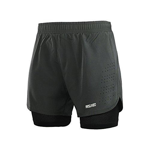 Arsuxeo Pantalones Cortos Correr Entrenamiento Activo