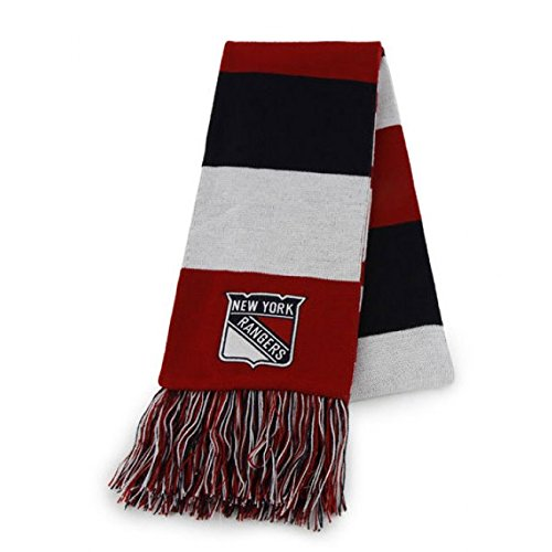 Rangers New Cup Stanley York (NHL New York Rangers Knit Scarf ('47 Brand))