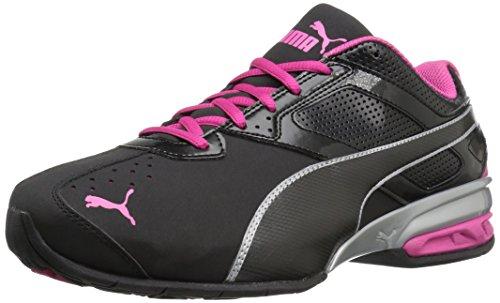 Scarpa da cross-trainer da donna Tazon 6 Wn's Fm, Puma Black / Puma Silver / Beetroot Purple, 10,5 W US