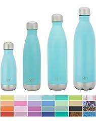 Simple Modern Una botella de agua Wave de acero inoxidable de 17 onzas Rock Purileta