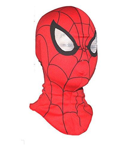 (DS COOLE SPIDERMAN MASKE verstellbar für Kinder und Erwachsene)